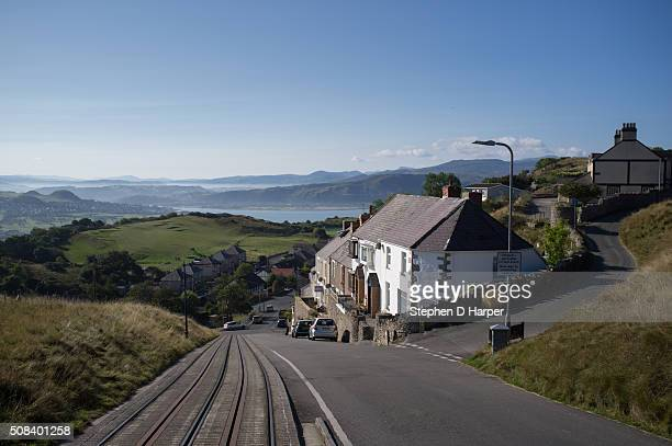 Looking towards Llandudno from the Great Orme Tramway
