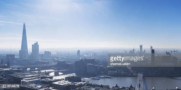 Looking towards South East London from high up