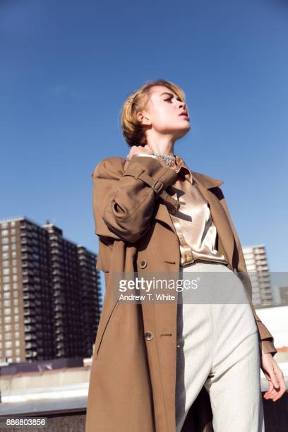 looking towards the future - gender fluid stock photos and pictures