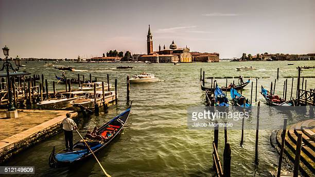 looking towards the ocean from san marco square - jakob montrasio stock pictures, royalty-free photos & images