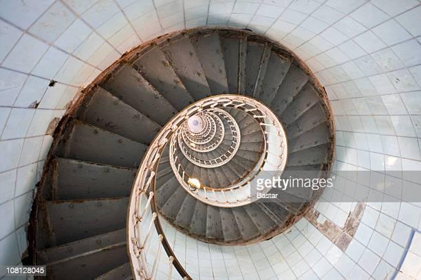 Guardare Spriral scalinata in casa di luce