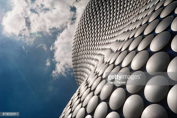 Looking up at the facade of the iconic Selfridge's Building designed by Future Systems and built in 2008 The facade of the strikingly designed...