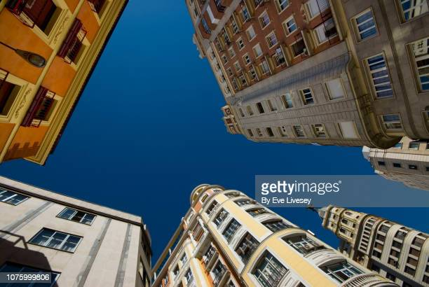 Looking Up in Madrid