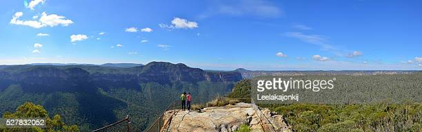 Lookout in Blue mountains national park