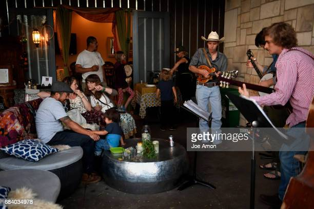 Lookout Mountain Showdown plays during a fund raiser to open the Carbondale Gypsy Wagon at the Marble Distilling Co The Distillery Inn in downtown...