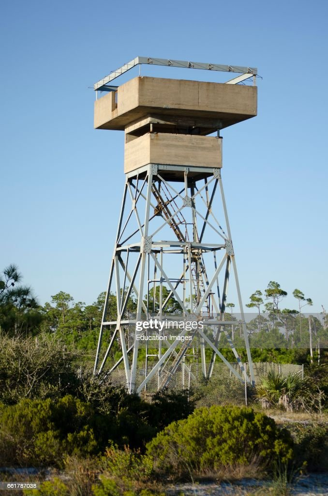 lookout tower in florida countryside pictures getty images