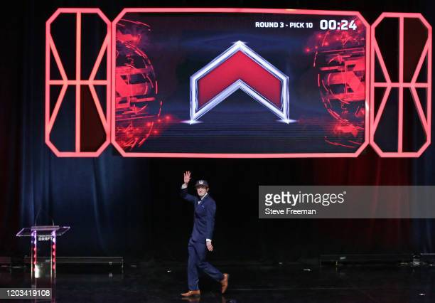 BRICH looks on after being picked during the NBA 2K League Draft on February 22 2020 at Terminal 5 in New York New York NOTE TO USER User expressly...