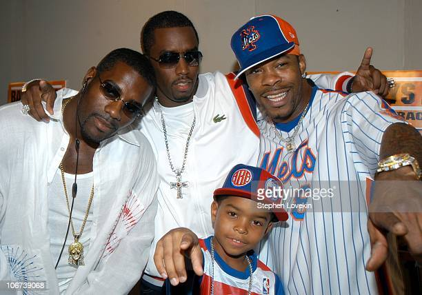 Loon Sean P Diddy Combs Justin Combs and Busta Rhymes