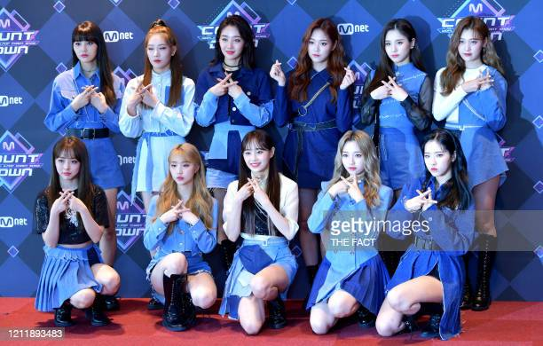 Loona attends the photocall for Mnet M Countdown at CJ EM Center on February 20 2020 in Seoul South Korea