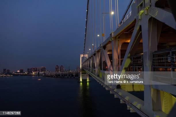 Loop bridge and sea in Japan