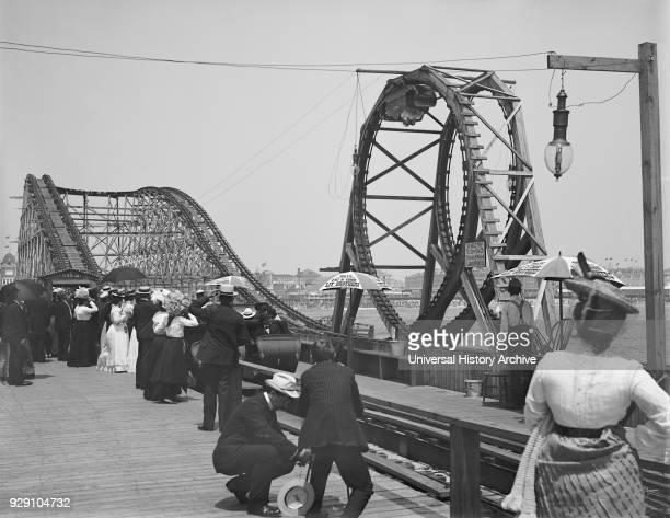 Looping the Loop Atlantic City New Jersey USA 1900