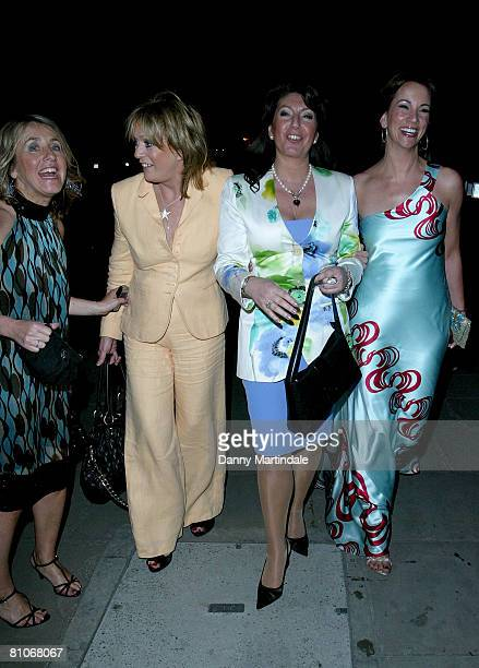 Loose Woman stars Jackie Brambles, Coleen Nolan, Carol McGiffin and Jane McDonald attends the Sex in the City Premiere - After Party at Billinsgate...