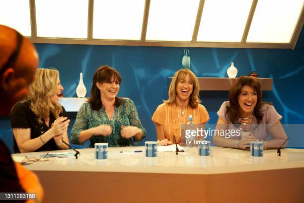Loose Women. Jackie Brambles Coleen Nolan Carol McGiffin Jane McDonald in studio June 21, 2008.