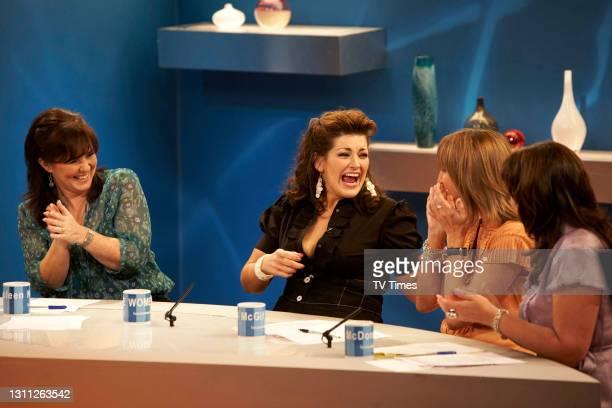 Loose Women. Jodie Prenger with Jackie Brambles Coleen Nolan Carol McGiffin Jane McDonald June 21, 2008.