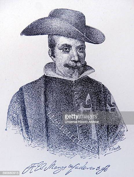 Lope Díez de Armendáriz Marquis of Cadereyta viceroy of New Spain He served as viceroy from September 16 1635 to August 27 1640