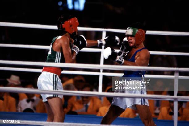 Lopez Stecca Men's boxing competition Memorial Sports Arena at the 1984 Summer Olympics