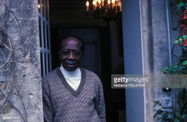 Léopold Sédar Senghor en mai 1983 au Sénégal.