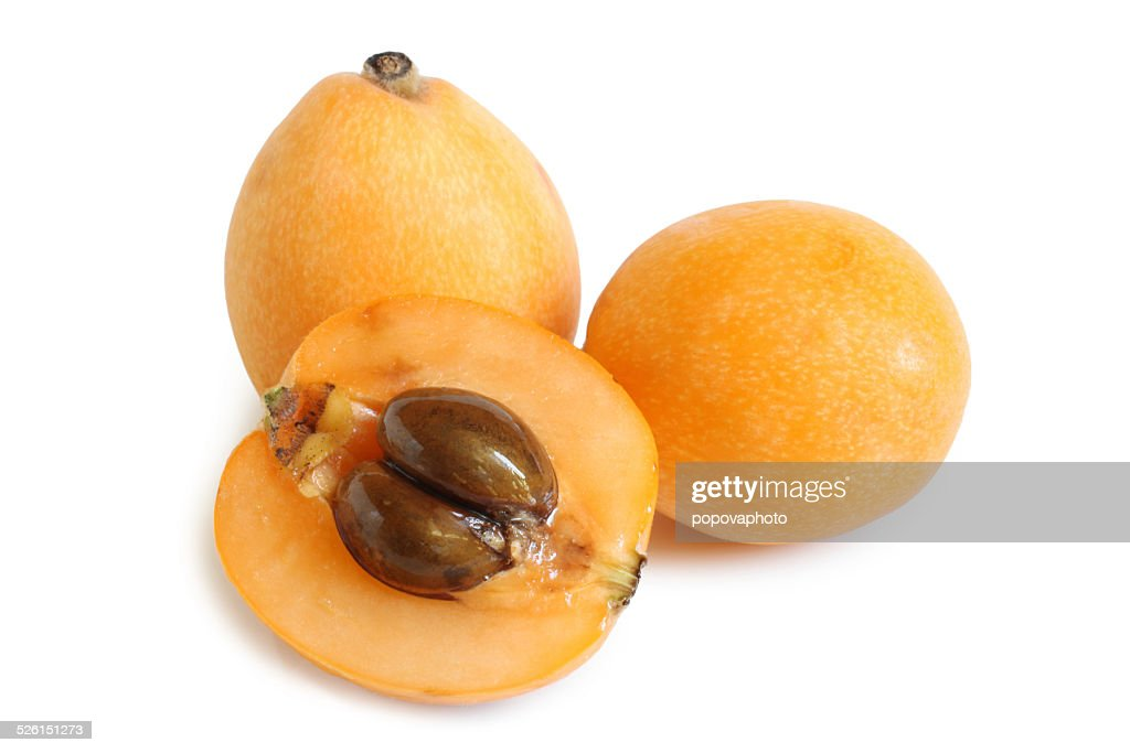 Loquat medlar : Stock Photo