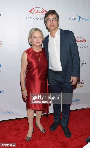 Loraine Alterman Boyle and actor Ray Romano attend the 11th Annual Comedy Celebration presented by the International Myeloma Foundation at The...