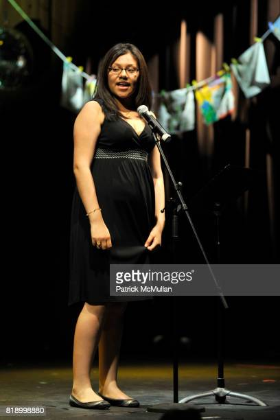 Lorayne attends The East Harlem School presents 2010 Spring Poetry Slam at Highline Ballroom on May 4 2010 in New York City