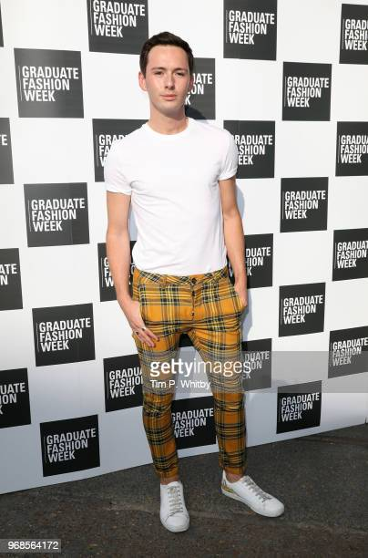 Lorcan London attends the Graduate Fashion Week Gala at The Truman Brewery on June 6 2018 in London England