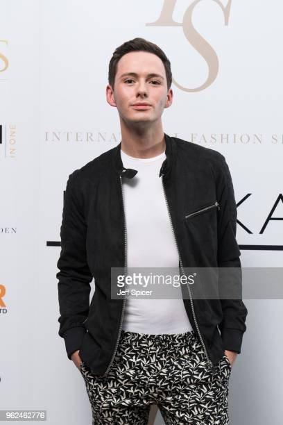 Lorcan London attends the inaugural International Fashion Show at Rosewood Hotel on May 25 2018 in London England