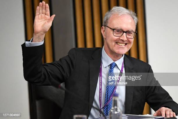 Lord Advocate James Wolffe gives evidence to a Scottish Parliament committee examining the handling of harassment allegations against former first...