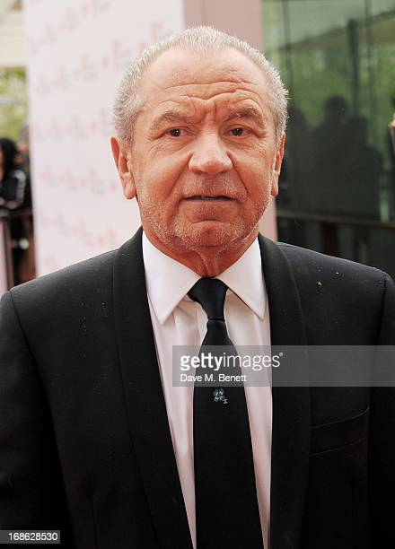 Lord Alan Sugar attends the Arqiva British Academy Television Awards 2013 at the Royal Festival Hall on May 12 2013 in London England