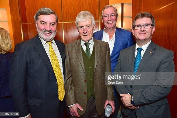 Lord Alderdice Dr Laurence G Crowley Aidan Browne and Jeffrey Donaldson attend Gregory de la Haba Terence Browne Present 'Hazel Made In Belfast'...