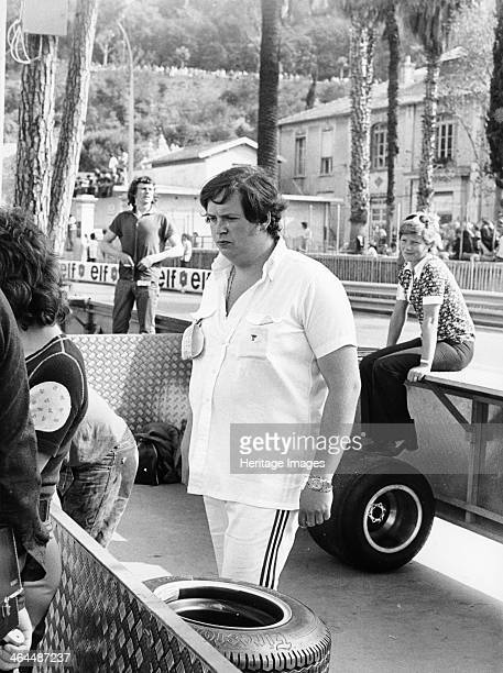 Lord Alexander Hesketh at the Monaco Grand Prix 1973 Pictured in the pits at the edge of the circuit Lord Alexander Hesketh at the headquarters of...