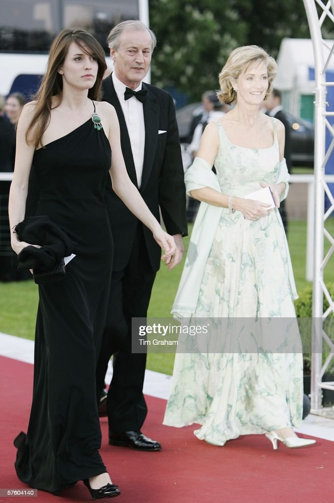 Lord & Lady Brabourne at RWHS Dinner : News Photo