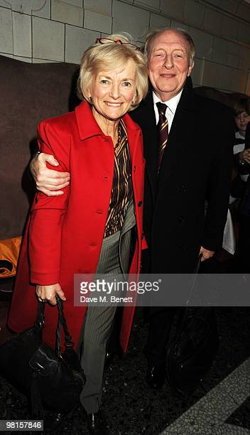 Lord and Lady Kinnock attend the VIP screening of The Ghost at The Court House Hotel on March 30 2010 in London England