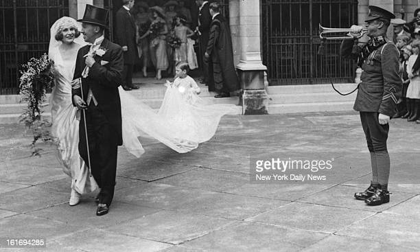 Lord and Lady Porchester of England Son of Earl of Oarnarvon discoverer of the tomb of King Tutankhamen his son Lord Porchester who married Miss...