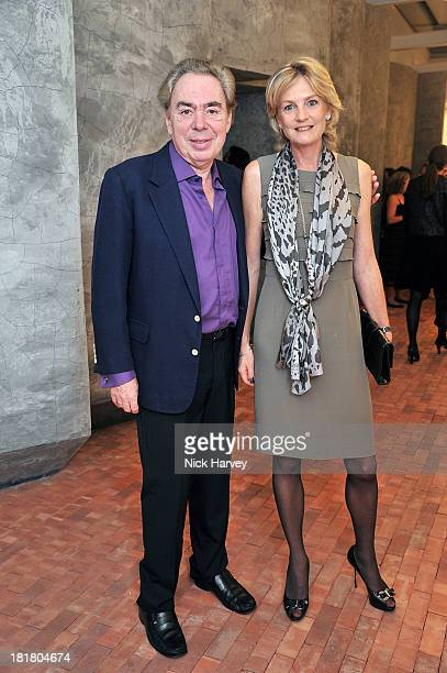 Lord Andrew Lloyd Webber and Lady Madeleine Lloyd Webber attends the VIP opening of The Serpentine Sackler Gallery Autumn Exhibitions at The...