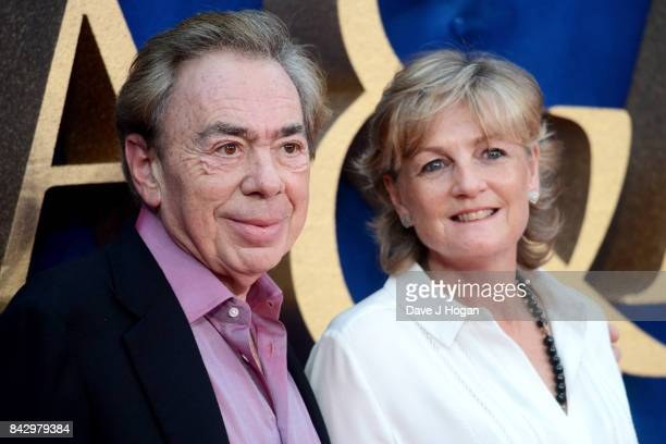 """Lord Andrew Lloyd Webber and Madeleine Gurdon attend the """"Victoria & Abdul"""" UK premiere at Odeon Leicester Square on September 5, 2017 in London,..."""