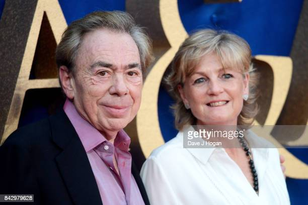 Lord Andrew Lloyd Webber and Madeleine Gurdon attend the Victoria Abdul UK premiere at Odeon Leicester Square on September 5 2017 in London England
