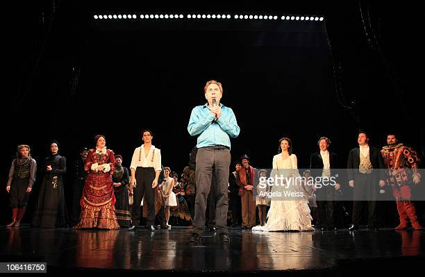 Lord Andrew Lloyd Webber attends the Phantom of the Opera closing night show at The Pantages Theater on October 31 2010 in Los Angeles California