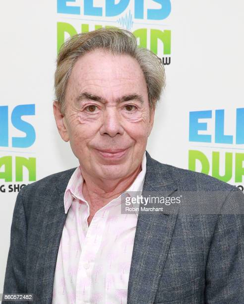 Lord Andrew Lloyd Webber visits at Z100 Studio on October 12 2017 in New York City