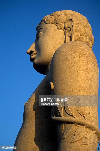 Lord Bahubali's statue in Sravanabelagola The 18meterhigh statue was carved between 978 and 993 AD