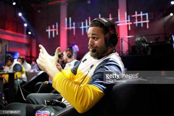 Lord Beezus of Pacers Gaming poses for a photo against Blazer5 Gaming during Week 7 of the NBA 2K League regular season on May 30 2019 at the NBA 2K...