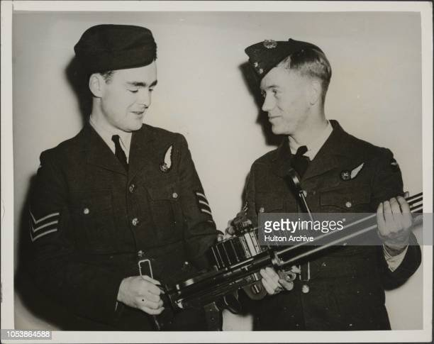 Lord Belper 's Son As Air Gunner Sergeant the Hon Michael Strutt a younger son of Lord Belper has just completed his training with the Royal Canadian...