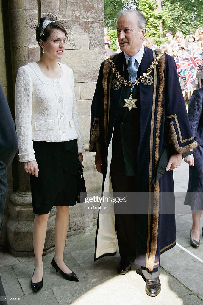Lord Brabourne in Romsey : News Photo