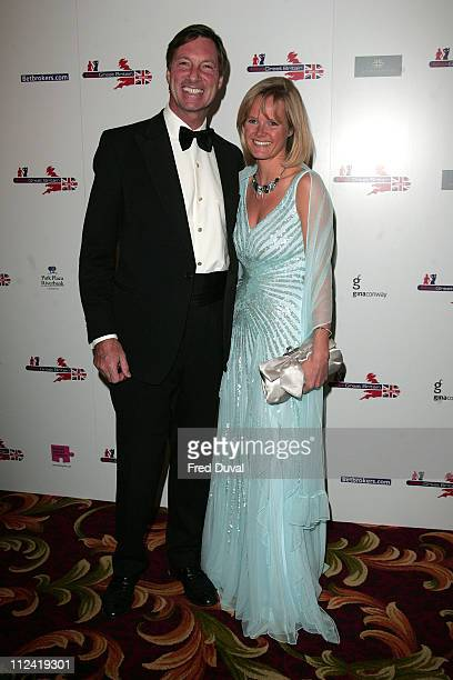 Lord Brocket and Harriet Warren during Miss Great Britain 2007 - Red Carpet Arrivals at Grosvenor House in London, Great Britain.