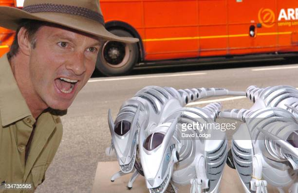 Lord Brocket during Roboraptors - Press Launch and Photocall at Hamley's in London, Great Britain.