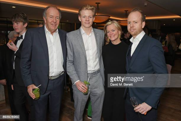 Lord Bruce Dundas Alexander Dundas Ruth Kennedy Lady Dundas and Max Dundas attend Alexander Dundas's 18th birthday party hosted by Lord and Lady...