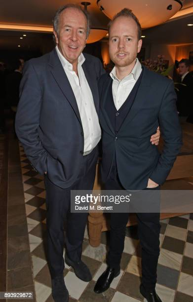 Lord Bruce Dundas and Max Dundas attend Alexander Dundas's 18th birthday party hosted by Lord and Lady Dundas on December 16 2017 in London England
