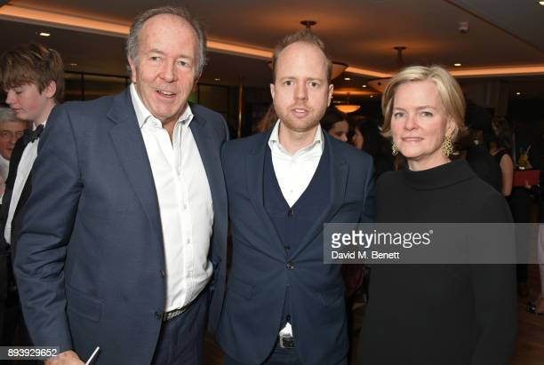 Lord Bruce Dundas Max Dundas and Ruth Kennedy Lady Dundas attend Alexander Dundas's 18th birthday party hosted by Lord and Lady Dundas on December 16...