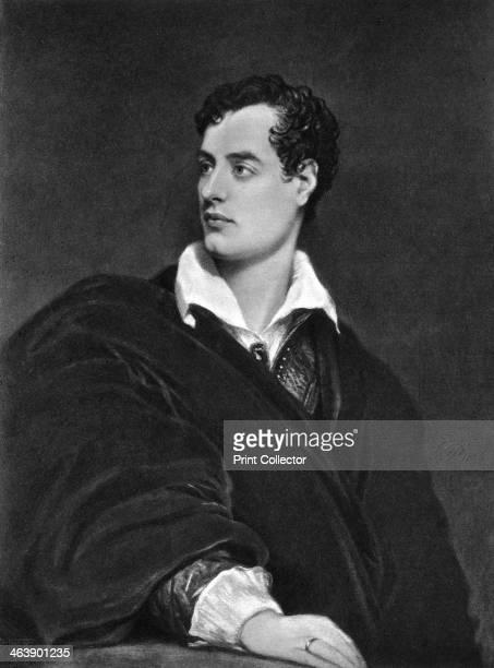 Lord Byron, English poet. George Gordon Byron, 6th Baron Byron was a leading figure in the Romantic movement.