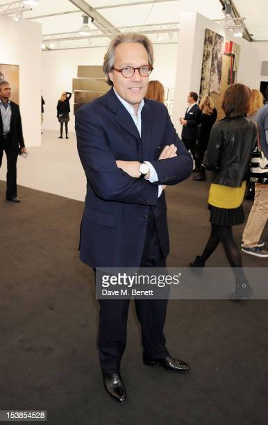 Lord Charles March attends a VIP Preview of the Frieze Art Fair in Regent's Park on October 10 2012 in London England