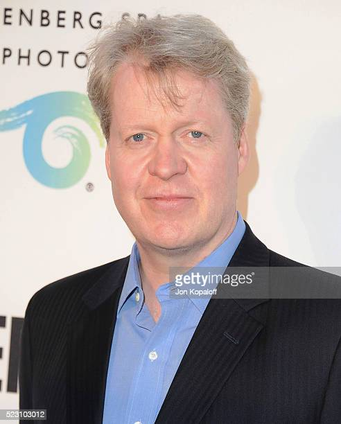 Lord Charles Spencer arrives at The Annenberg Space For Photography Presents Refugee at Annenberg Space For Photography on April 21 2016 in Century...